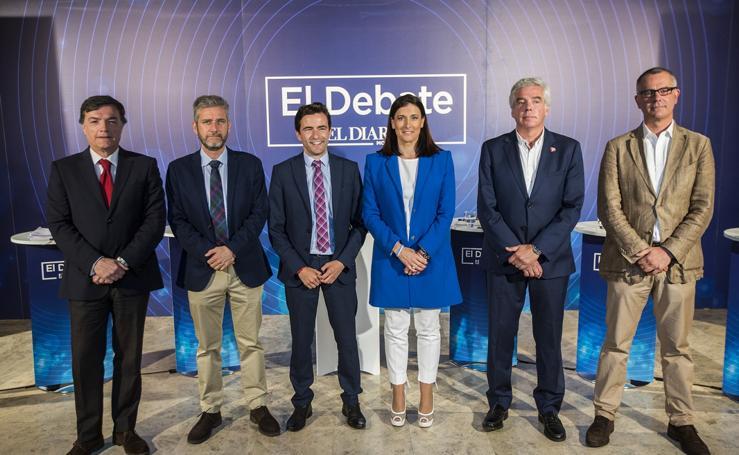 Las mejores imágenes del debate