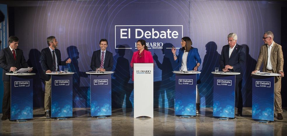 El debate íntegro: los seis candidatos de Santander, cara a cara