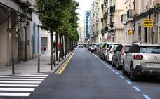 Concluye el asfaltado de las calles Gándara y Ataúlfo Argenta de Santander