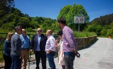 Medio Rural repara la cambera de La Pesa y el ramal al depósito de agua de Cartes