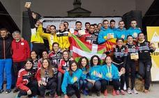 Liébana, plata en el Nacional de Kilómetro Vertical por clubes celebrado en Arredondo