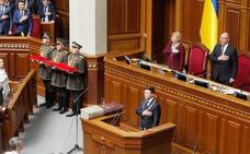 El nuevo presidente ucraniano firma el decreto que convoca las legislativas para el 21 de julio