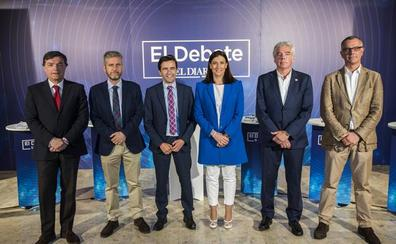 Resumen del cara a cara de los candidatos a la Alcaldía de Santander