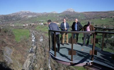 Soba inicia los trámites para construir la tirolina sobre la cascada del Gándara
