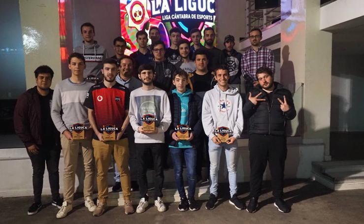 Entrega de premios a los campeones y subcampeones de La Liguca
