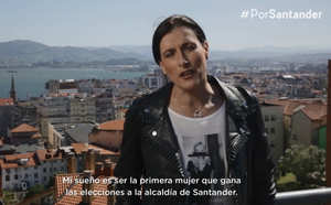 Vídeo promocional de Gema Igual, candidata a la Alcaldía de Santander