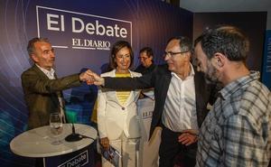 Las mejores imágenes del debate en Torrelavega