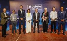 Las imágenes del debate