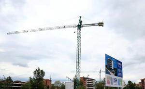 La obra nueva de vivienda es aún solo un 10% de la construida antes de la crisis