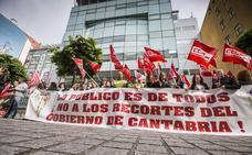 El Gobierno dice que la huelga de su personal laboral la ha secundado el 10,3% de la plantilla
