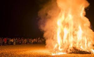 Requisitos para hacer una hoguera de San Juan en Cantabria