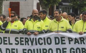La plantilla de Parques de Santander vuelve a salir a la calle para exigir una adjudicación acorde a las necesidades
