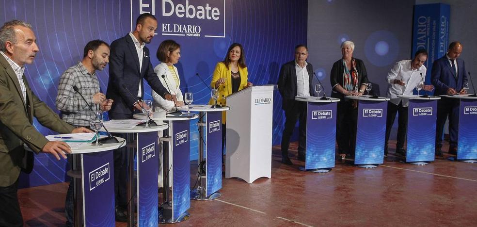 Los mejores momentos del debate en Torrelavega