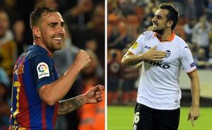Paco Alcácer, un goleador copero que irá con el Valencia
