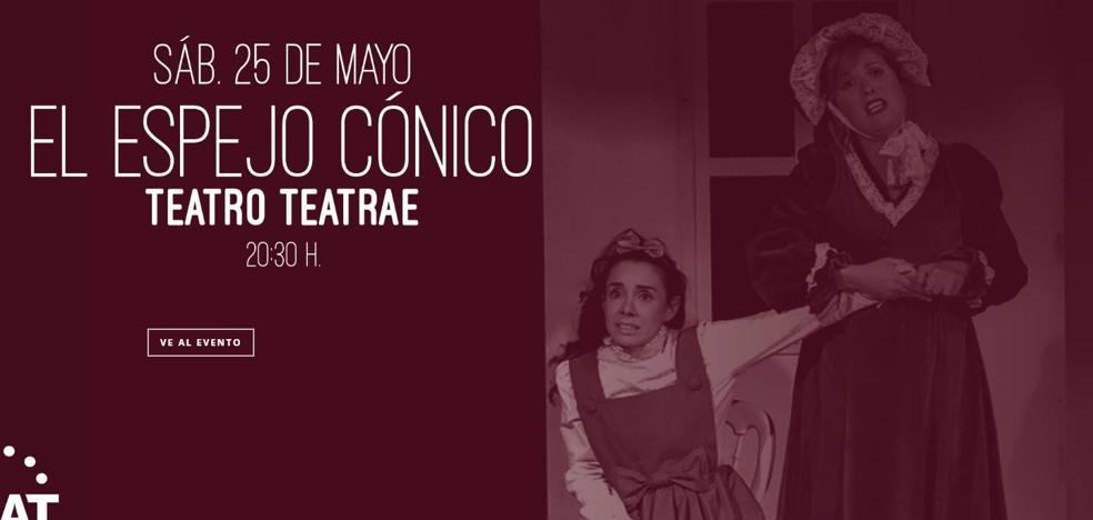 Café de las Artes acoge esta tarde la obra 'El espejo cónico'