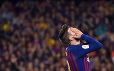Piqué: «No hay excusa, somos el Barcelona y estamos obligados a ganar todo»