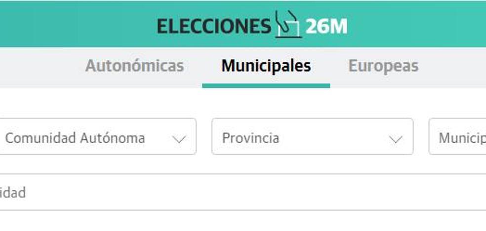 Conoce el resultado al detalle de tu municipio