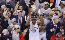 Los Raptors jugarán la primera final de su historia ante los Warriors