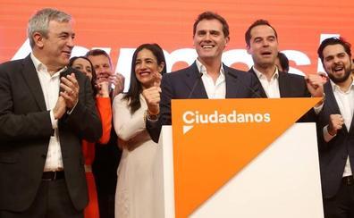 Ciudadanos retira el cordón sanitario al PSOE y a Vox para negociar