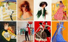 'Dibujantas', la exposición que reivindica a las españolas pioneras de la ilustración