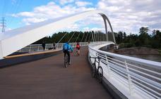 Fomento y Urbanismo autorizan la instalación de la pasarela sobre el río Saja-Besaya