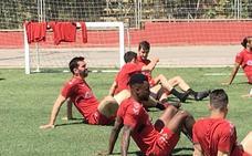 Figueras y Kitoko apuntan a titulares mañana en el duelo final ante el Atlético Baleares