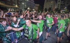 El Racing celebrará esta tarde el ascenso con los niños en la plaza del Ayuntamiento