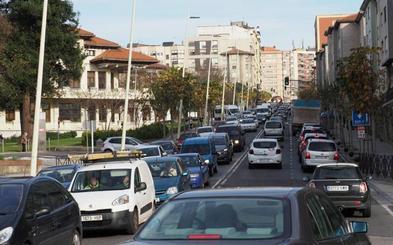 En Santander los atascos se mantienen iguales que hace dos años