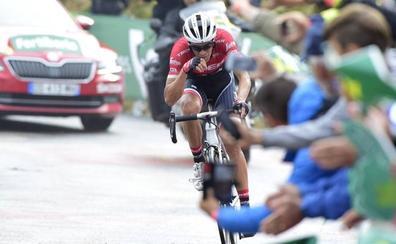 El alto de Los Machucos se prepara para recibir a La Vuelta
