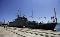 Puertas abiertas en dos cazaminas de la Armada, el sábado y el domingo