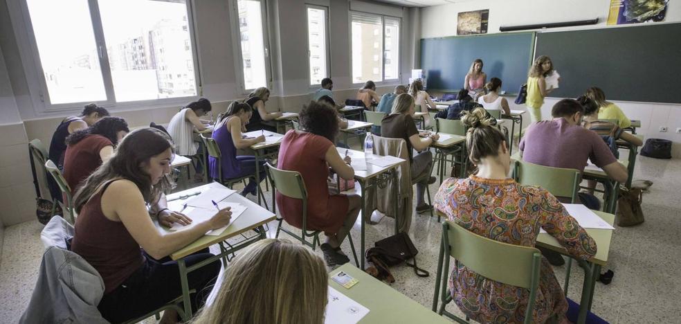 Los exámenes de las oposiciones del cuerpo de maestros de Cantabria arrancarán el 25 de junio