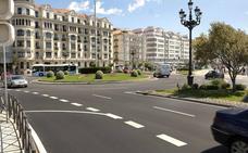 Concluye el asfaltado de la glorieta de Puertochico
