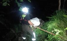 Fallece un pescador de 75 años tras despeñarse en el río Miera