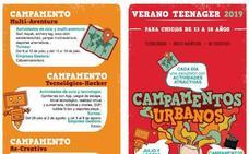 'Verano Teenager' vuelve a ofrecer en Santander campamentos de verano juveniles