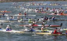 Más de 400 piragüistas participarán en la XXI Travesía Nacional de Colindres