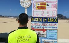 La playa de Laredo tampoco tendrá socorristas durante este fin de semana