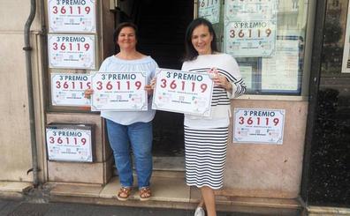 Vendido en Santander el tercer premio del sorteo de Cruz Roja de la Lotería Nacional