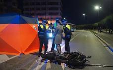Muere un motorista al chocar contra un todoterreno en El Sardinero
