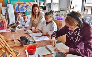 La Escuela Municipal de Arte de Los Corrales se prepara para su traslado
