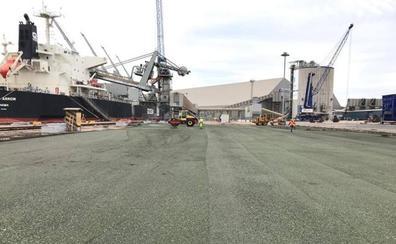 GOF y Cexme rescatan las 'escorias' de Ferroatlántica para usarlas en obra civil