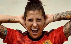 Jennifer Hermoso, mujer gol de España
