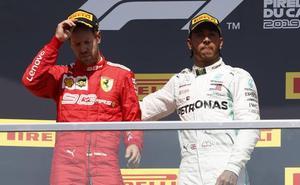 Vettel aprende por las malas el 'dura lex, sed lex'