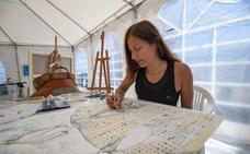 Piñeiro: «Ser artista es como una carrera de fondo, dura pero compensa»