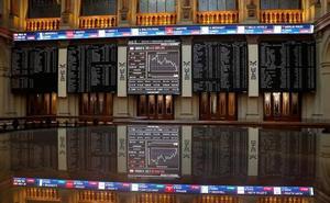 El Ibex-35 deja escapar los 9.300 puntos en su primera caída tras seis sesiones de ascensos