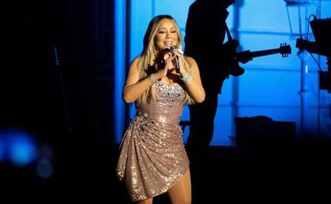 Noche «de lujo» con Mariah Carey en Pedralbes