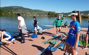 Campoo de Yuso prueba su área de regatas en el Pantano del Ebro