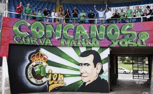 La Peña Concanos quiere salvar el mural de la Curva Nando Yosu