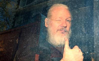 EE UU formaliza ante Reino Unido la petición para extraditar Julian Assange