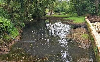 Un cortocircuito en el sistema de bombeo provoca un vertido sobre el río Pas
