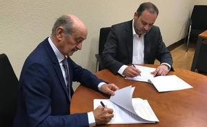Ábalos y Mazón firman el calendario de inversiones para Cantabria a cambio del apoyo del PRC a Pedro Sánchez